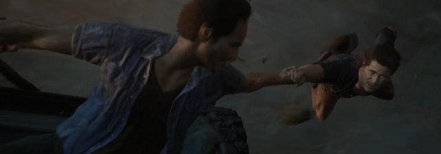 """Uncharted 4 bietet wieder einige Stunts und explosive """"Action""""."""
