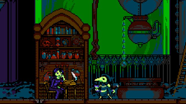 Unheimlich und trotzdem irgendwie putzig: Plague Knight