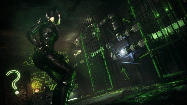 Auch Catwoman gibt sich wieder die Ehre.