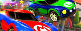 Rocket League: Exklusive Mario- und Metroid-Autos für Nintendo Switch angekündigt