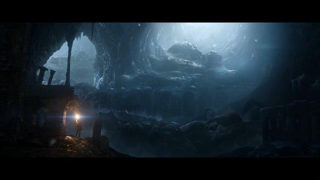Größere Höhle, mehr zu entdecken: Crystal Dynamics nimmt sich die Kritik am Vorgänger zu Herzen.