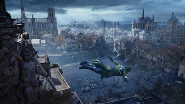 Paris liegt euch in Assassin's Creed - Unity zu Füßen.