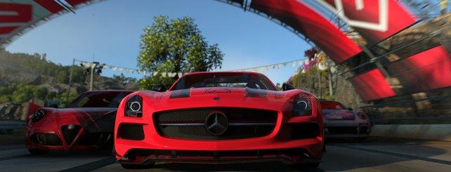 Driveclub verspricht spannende Rennen auf der PS4.