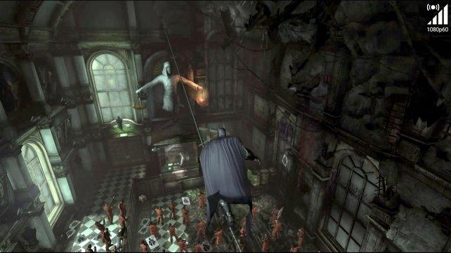 Große Titel wie Batman Arkham City gibt es nicht zum Download, sondern als Stream.