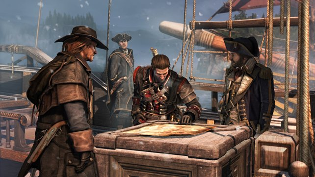Auch Assassin's Creed - Rogue schickt euch auch wieder nach Amerika.