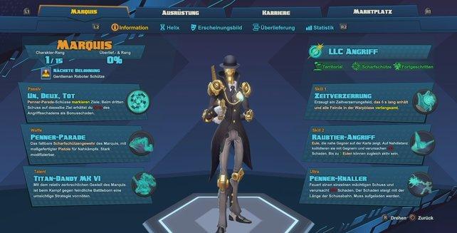 Helden vom Last Light Consortium: Marquis