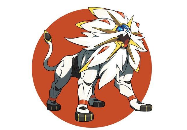 Solgaleo: Das legendäre Pokémon in der Sonnen-Edition.