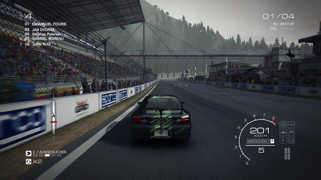 Das Fahrgefühl in Grid Motorsport ist meist sehr gut.