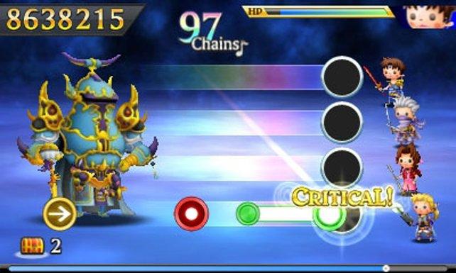 So niedlich wurde bei Final Fantasy nur selten gekämpft.