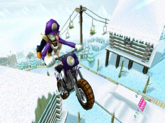 Anfängertauglich ist ja gut und schön. Aber Mario Kart Wii legt etwas zu viel Gewicht auf den Faktor Glück.