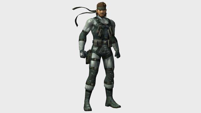 Solid Snake verfügt über durchschlagende Tricks, lässt sich aber nur in Brawl blicken.