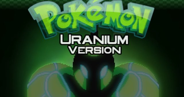 Urayne ziert den Titelbildschirm von Pokémon Uranium.