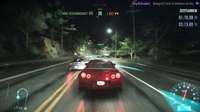 Das neue Need for Speed verzichtet auf vieles: Es hat keinen Untertitel und (fast) keine Tageszeiten.