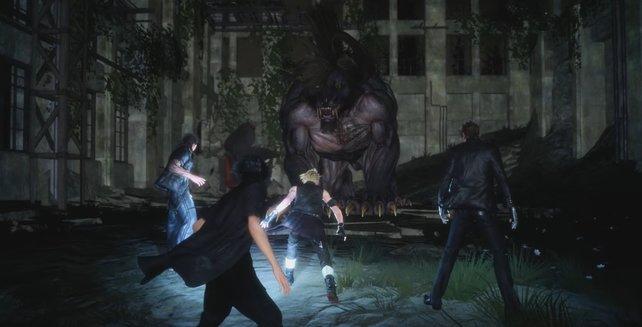 Einen derartigen Behemoth müsst ihr besiegen, wenn ihr die Quest für die Chocobos abschließen wollt.