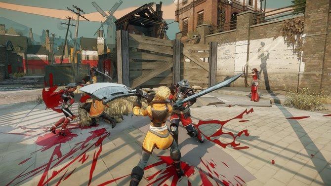Bis zu 32 Spieler gleichzeitig stellen sich im offenen Kampf in Battlecry.
