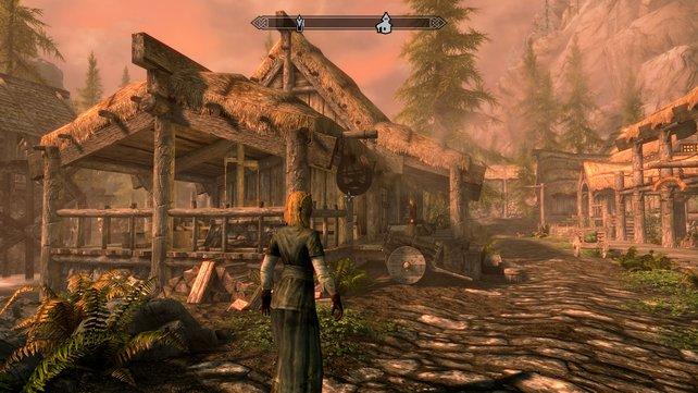 Ein Klassiker auf UHD: Die Remastered-Version von Skyrim unterstützt auch die PS4 Pro.