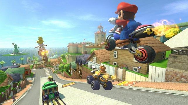 Unsere Tipps zu Mario Kart 8 - Deluxe befördern euch an die Spitze des Feldes.