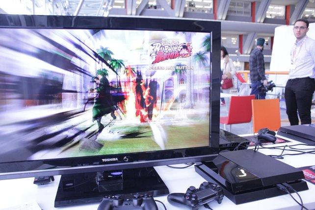 In der Tokio-Zentrale von Bandai Namco dürfen wir One Piece - Burning Blood ausprobieren.