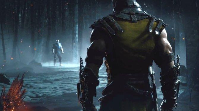 Auch bei der Ankündigung von Mortal Kombat X steht der Konflikt zwischen Scorpion und Sub-Zero im Mittelpunkt.