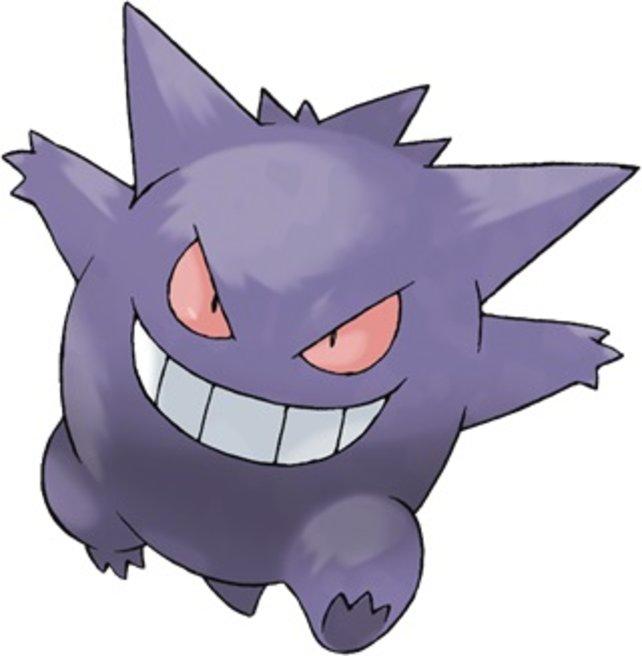 Ein Geist-Pokémon.