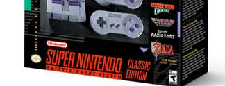 Super Nintendo Classic Mini angek�ndigt