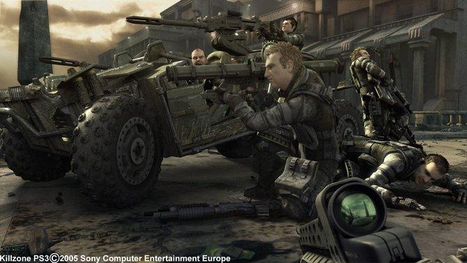 Skandal: Killzone 2 sieht in der ersten Vorführung von 2005 überragend aus. Dummerweise ist das hier keine Spielgrafik.