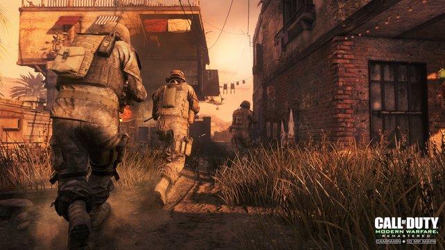 """Käufer der Legacy Edition, der Legacy Pro Edition sowie der Digital Deluxe Edition erhalten die Remastered Fassung von """"Call of Duty: Modern Warfare"""" als Download-Code obendrauf."""