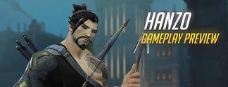 Overwatch: Ein komplettes Gefecht mit dem Bogensch�tzen Hanzo im Video