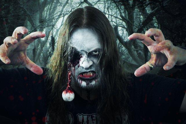 Auch Onkel Jo verwandelt sich mitunter in einen Zombie.