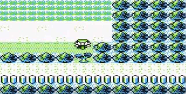 Pokémon Gelb: VM01 Zerschneider könnt ihr an diesen Büschen einsetzen.