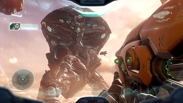 Die Szenarien in Halo 5 sind nicht weniger als gigantisch.