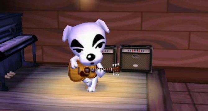 KK Slider bei seiner Lieblingsbeschäftigung: Singen.