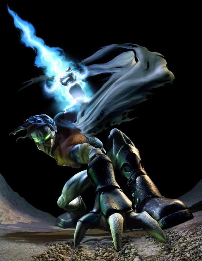 Das ist Raziel aus der Serie Legacy of Kain.