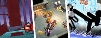 Specials: 10 neue Download-Spiele #61 - Diese Spiele steuert ihr mit nur einer Hand