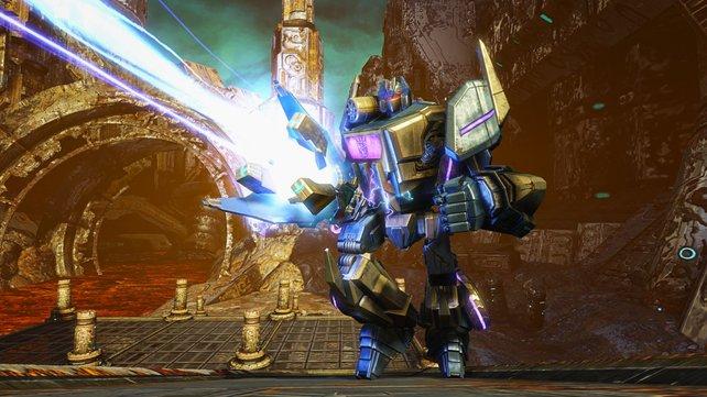 Randale auf Cybertron!