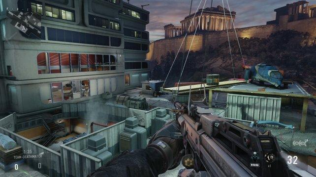 Altes Areal mit neuen Möglichkeiten: Skyrise basiert auf der Highrise-Karte aus Modern Warfare 2.