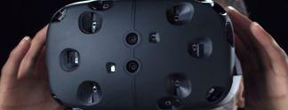 """Valve: Entwicklung der VR-Brille """"The Vive"""" zusammen mit HTC"""