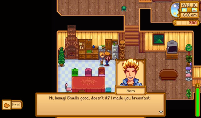 Sam gefällt das Geschenk - Das stärkt eure Freundschaft.