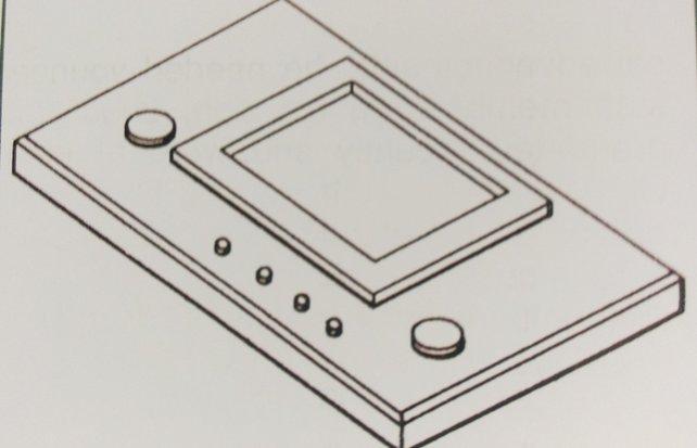 Einer der Prototypen des ersten G&W-Spiels sieht noch recht schlicht aus.