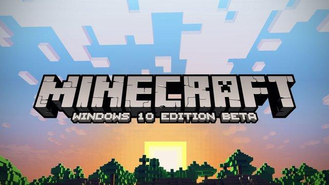 Das neueste Mitglied der Minecraft-Gemeinde: die Windows 10 Edition.