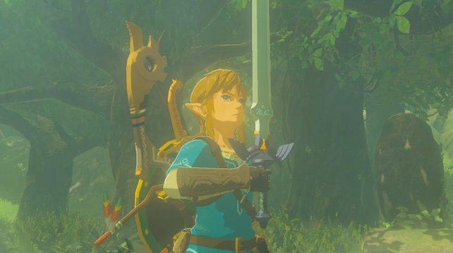 Neben dem Master-Schwert gibt es viele mächtige Waffen in Zelda - Breath of the Wild.