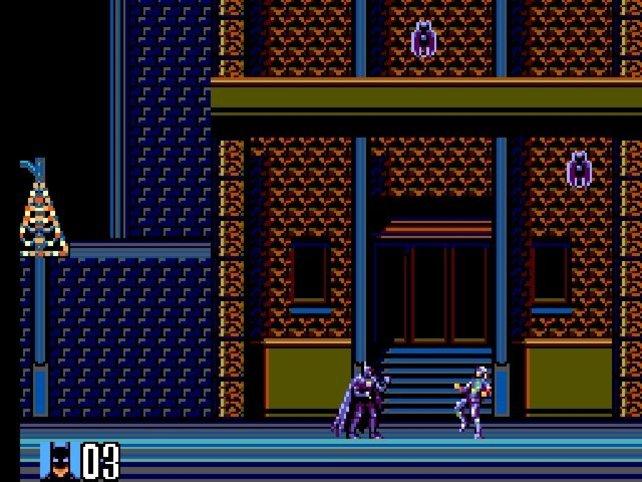 Batman Returns für das Sega Master System.