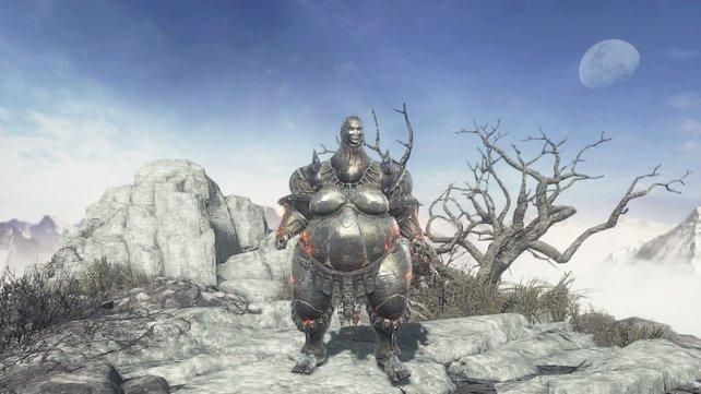 Diese groteske Rüstung wurde von Smough im ersten Dark Souls getragen.