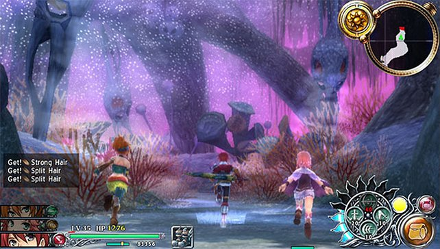 Euer Helden-Trio erforscht einen gigantischen Wald mit allerlei Geheimnissen.