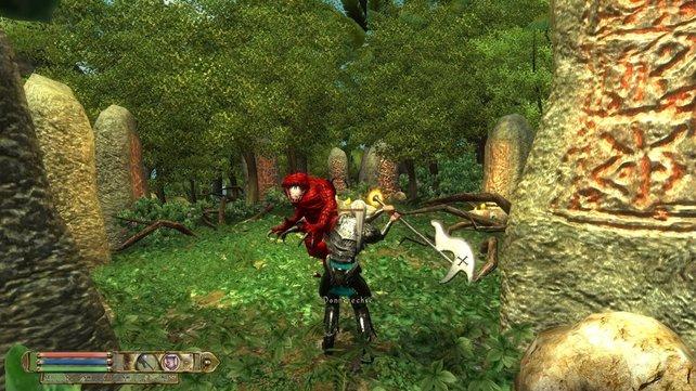 Nehrim ist eine eigenständige Geschichte innerhalb von Oblivion und erweitert das Spiel um einen ganzen Kontinent
