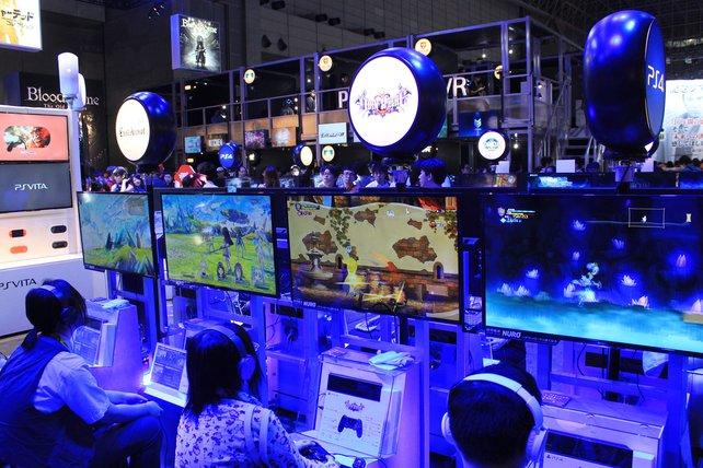Viele interessante sowie bekannte Neuheiten gibt es am Playstation-Stand.