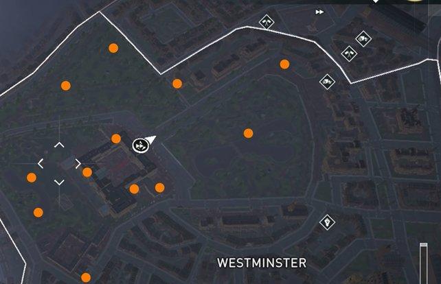 In Westminster findet ihr alle 12 königlichen Briefe. Bildquelle: PS4Trophies