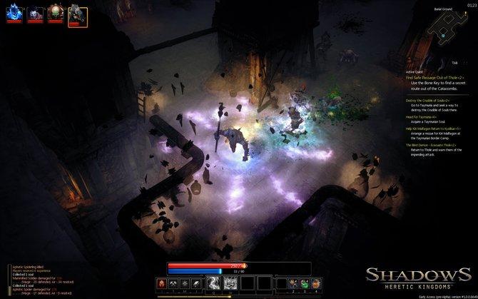 In Shadows - Heretic Kingdoms besitzt jede Figur besondere Fähigkeiten.