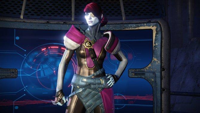 """Das ist Petra, eine der neuen Charaktere, die euch in der zweiten Erweiterung """"Haus der Wölfe"""" erwarten."""