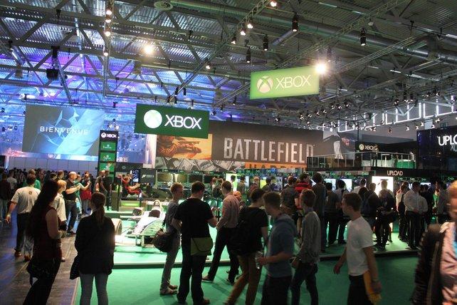 Genau wie bei Sony steht bei Microsoft die Spielevielfalt im Vordergrund.